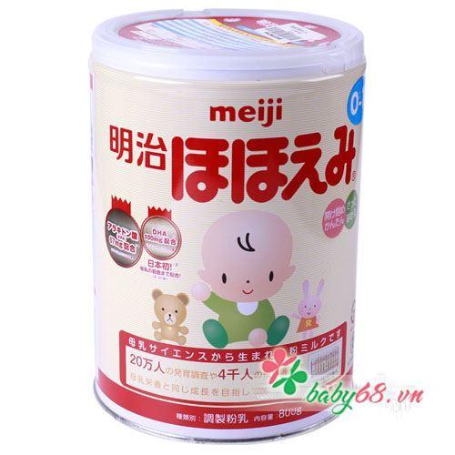Sữa Meiji số 0