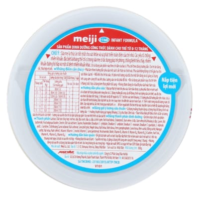 Sữa Meiji dưới 1 tuổi